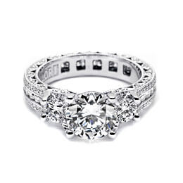 Diamond Jewelry Engagement Ring White Gold Tacori 10
