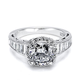 Diamond Engagement Ring White Gold Tacori 11