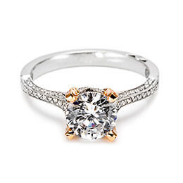 Diamond Jewelry Diamond Engagement Ring White Gold Tacori 25