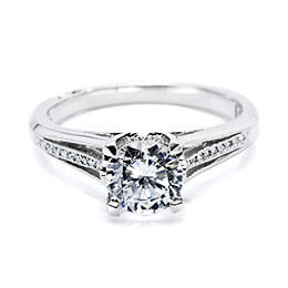 Diamond Jewelry Engagement Ring White Gold Tacori 27