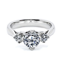 Diamond Engagement Ring White Gold Tacori 28