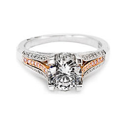 Diamond Jewelry Engagement Ring White Gold Tacori 29