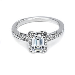 Diamond Engagement Ring White Gold Tacori 30