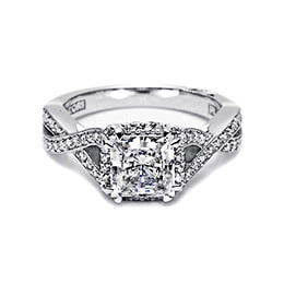 Diamond Engagement Ring White Gold Tacori 33
