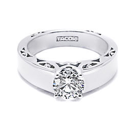 Diamond Engagement Ring White Gold Tacori 35