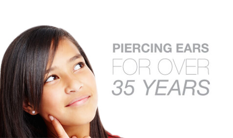 Ear piercing in Marin County.