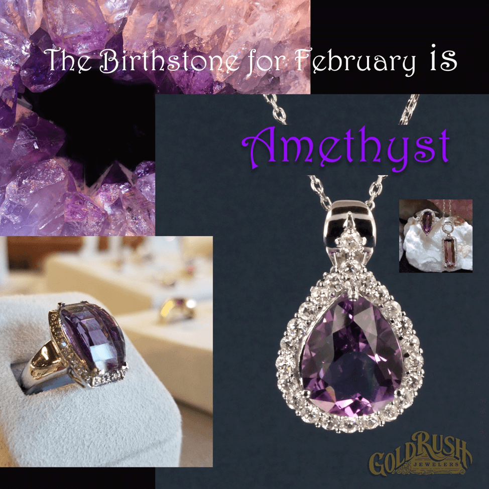 Amethyst: February birthstone