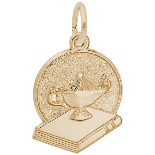 Golden Graduation and Book Charm